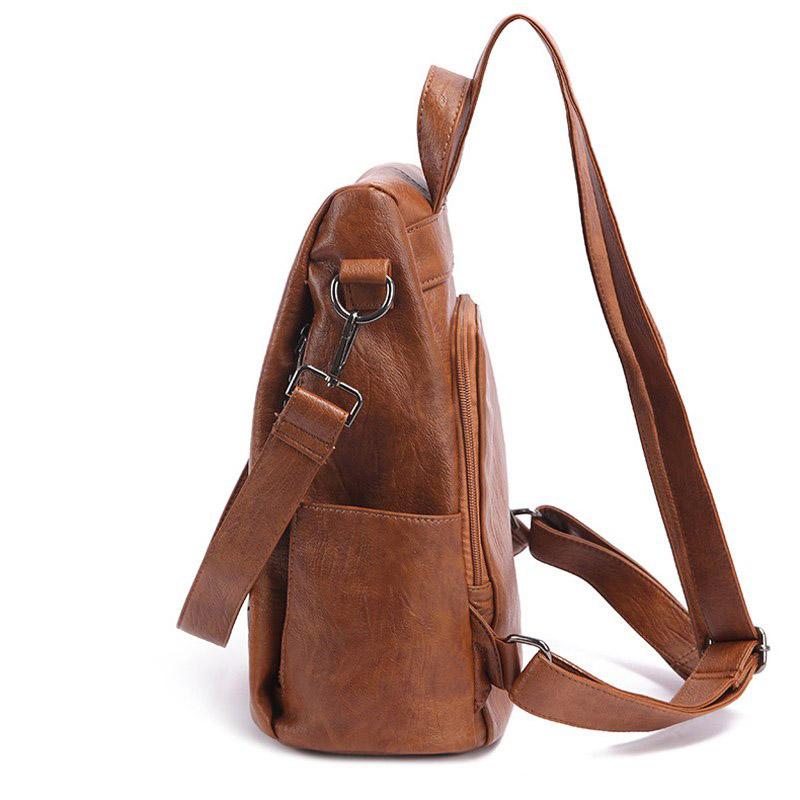 sac a dos antivol cuir anita pour femme, mon sac antivol
