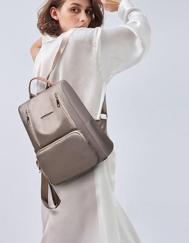 Sac à Dos Inviolable Femme Carina, mon sac antivol