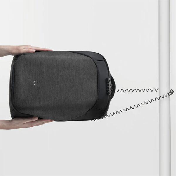 sac à dos antivol imperméable avec cadenas