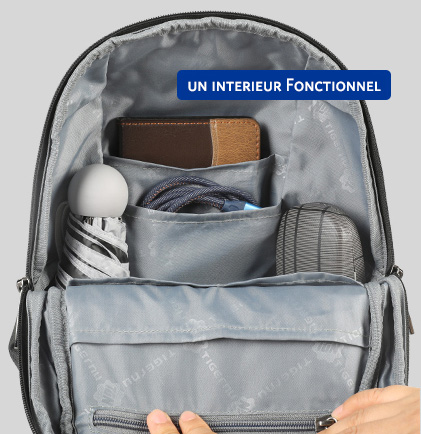 Sac Bandoulière Antivol RFID RAILAY, mon sac antivol