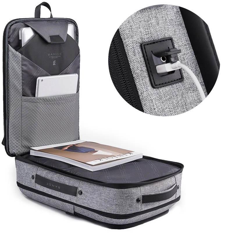 sac sécurisé avec port USB