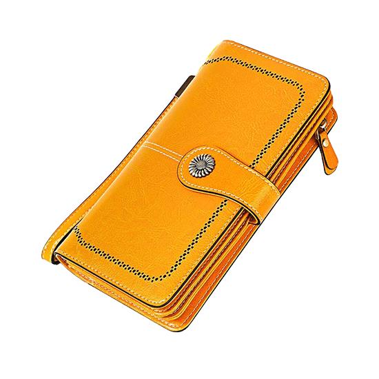 Portefeuille anti-RFID femme