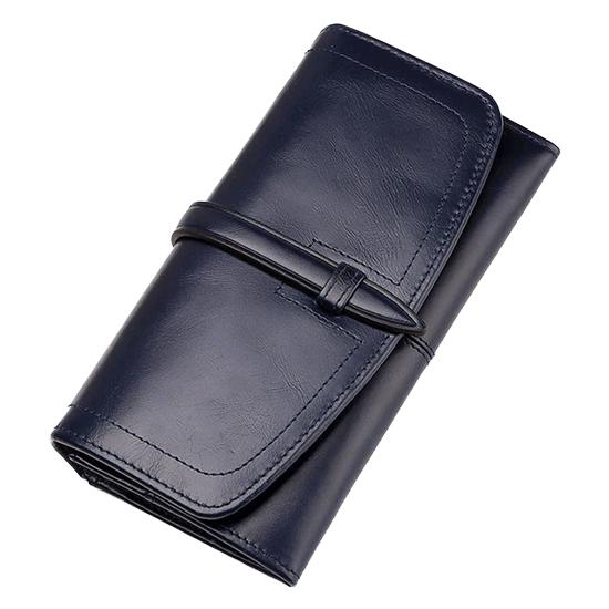portefeuille RFID cuir femme