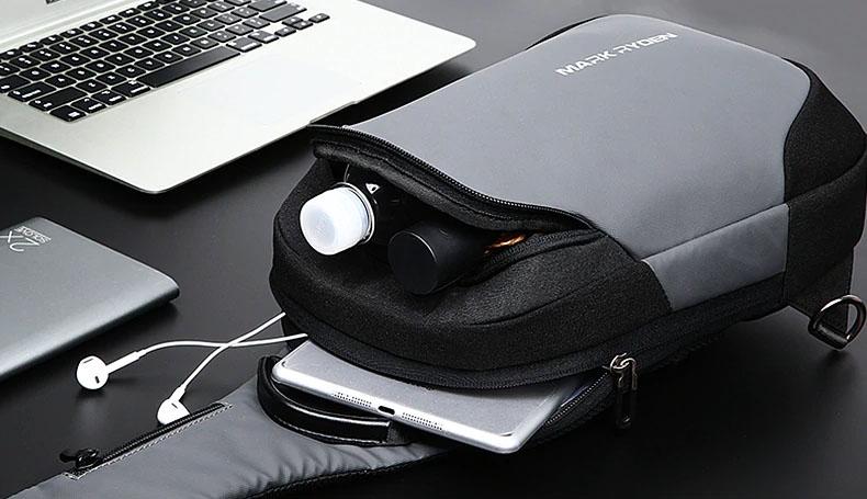sac bandouliere etanche USB