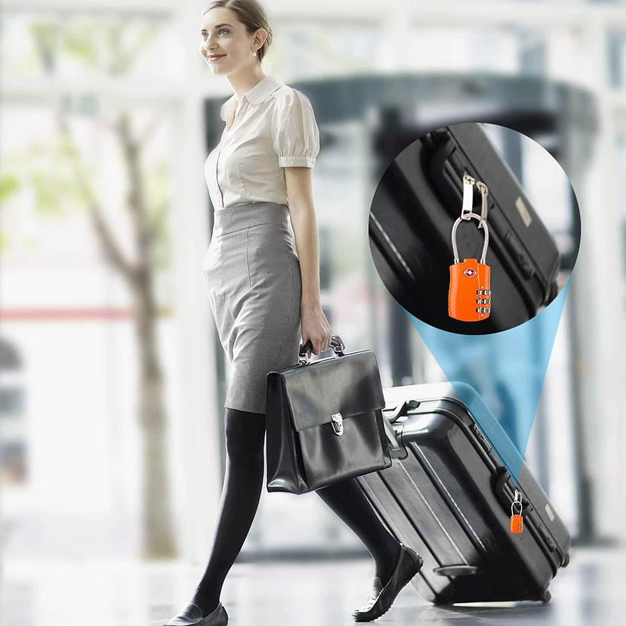 Cadenas de Voyage à Combinaison TSA