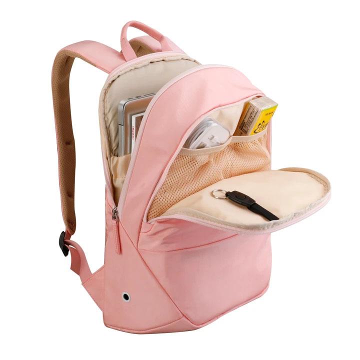 sac à dos antivol rose