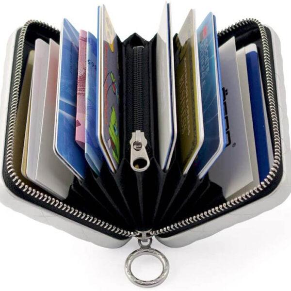 portefeuille RFID femme matelassé