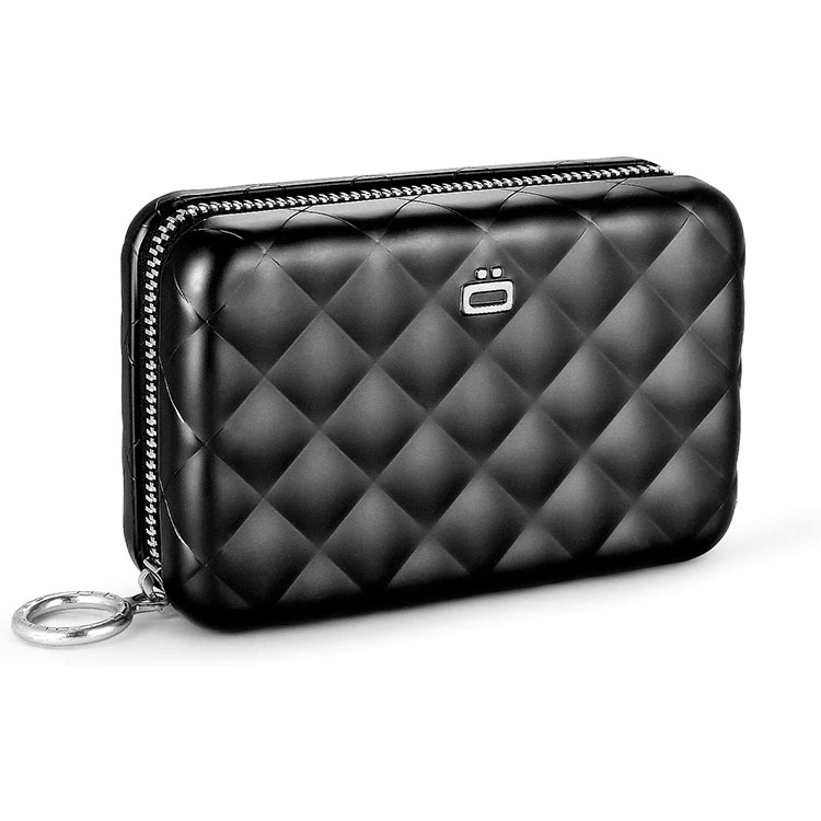 portefeuille RFID femme noir