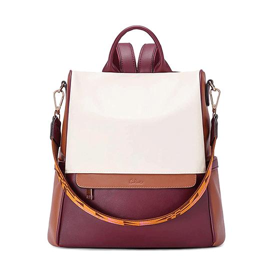 sac antivol cuir pour femme
