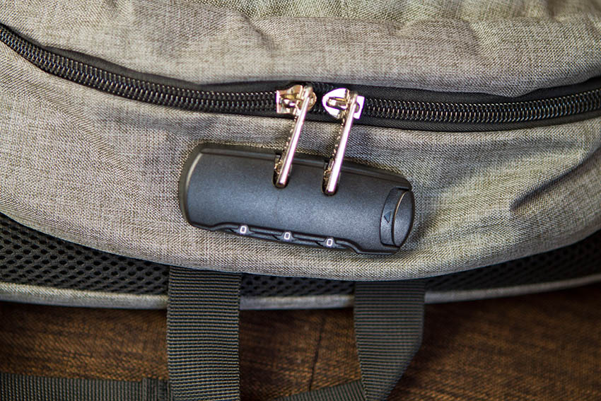 Comment changer le code de mon sac antivol