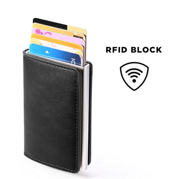 Porte Carte anti piratage ondes RFID