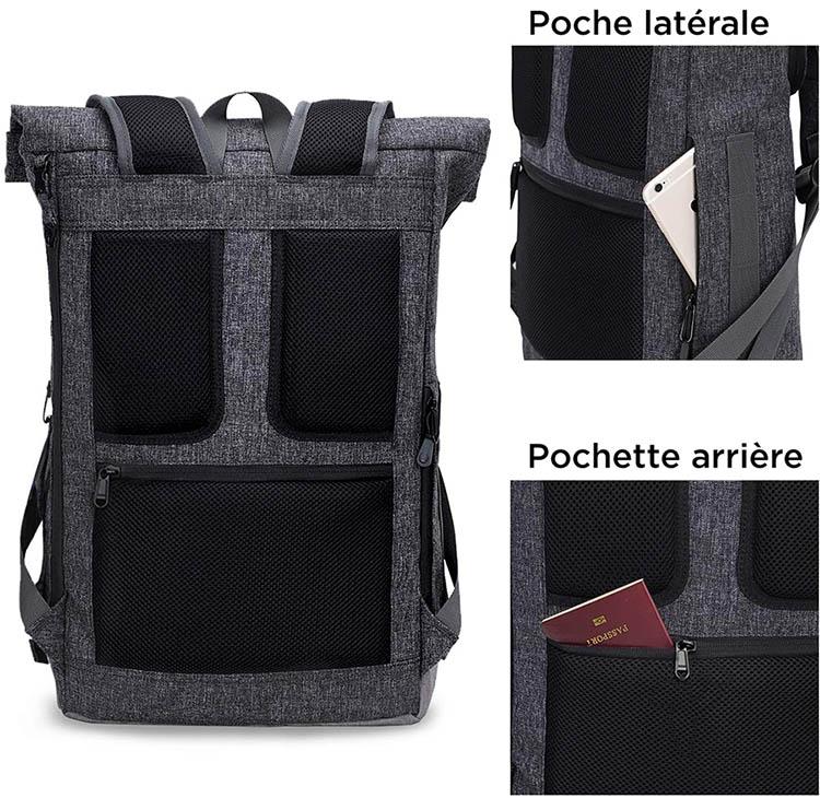 sac à dos impermeable pour ordinateur